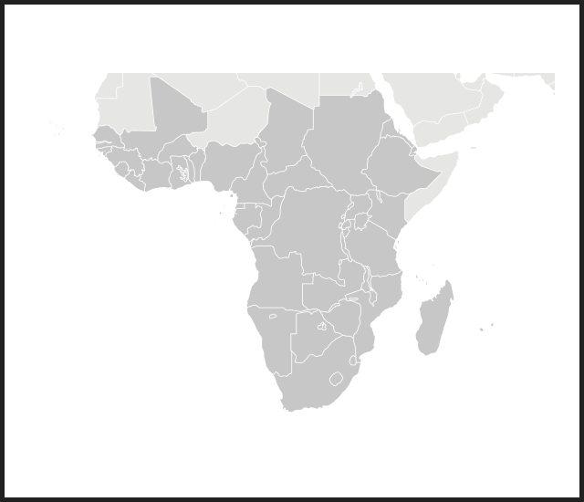 Modal map africa