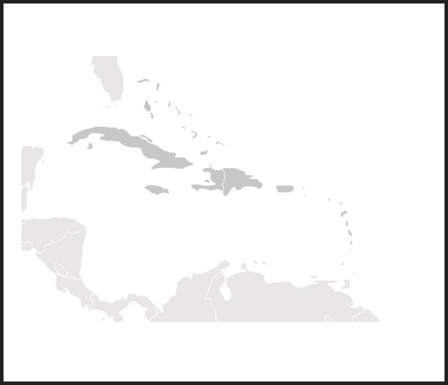 modal map caribbean