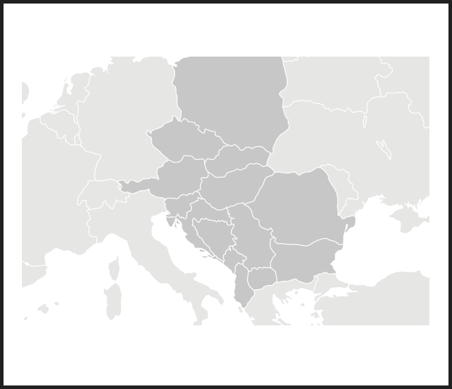 modal map e europe