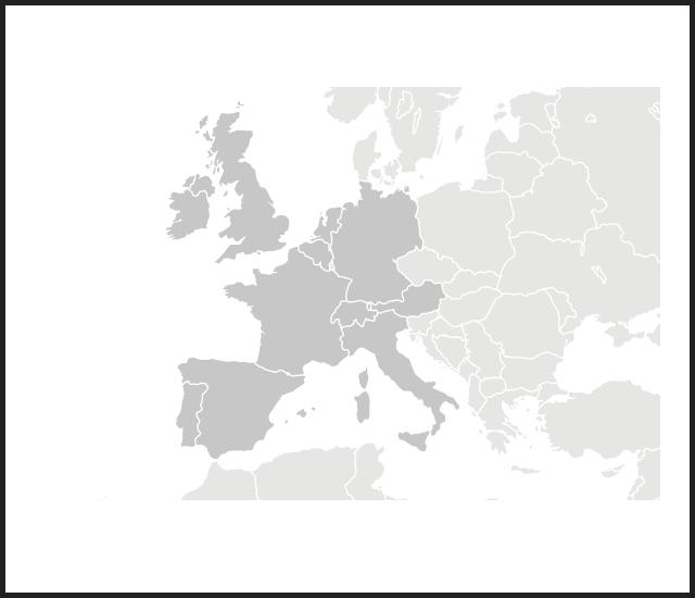 modal map europe