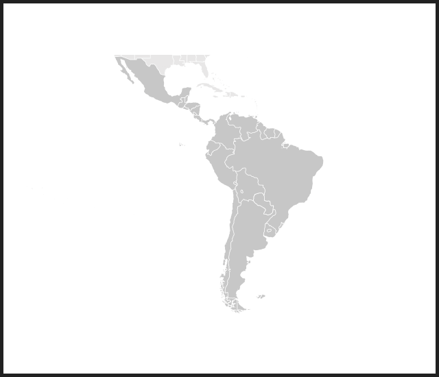 modal map latin america