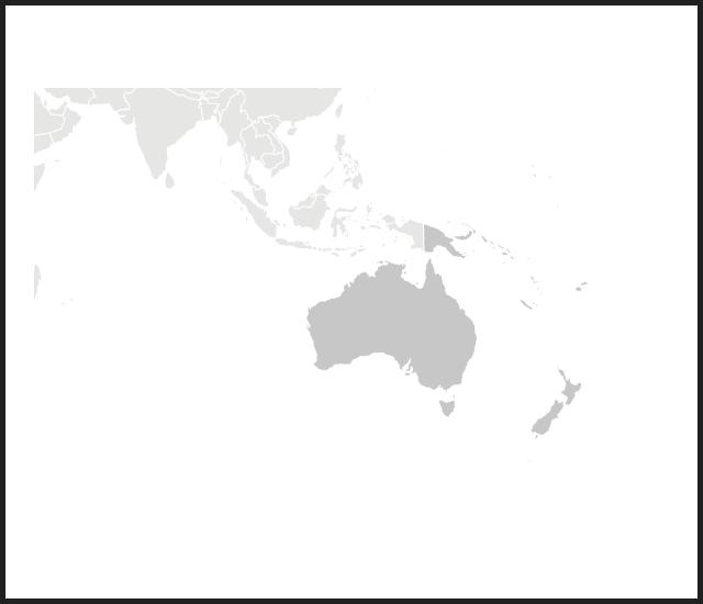 modal map oceania