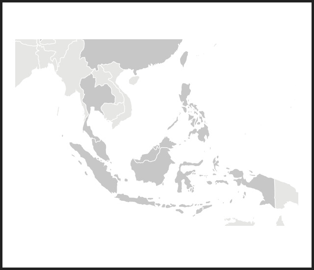 Modal map southeast asia