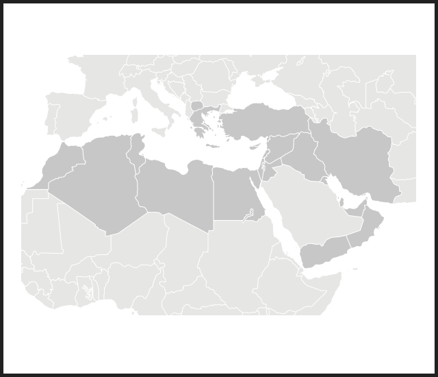 Modal map turkey